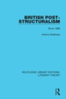 British Post-Structuralism : Since 1968 - eBook