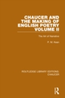 Chaucer and the Making of English Poetry, Volume 2 : The Art of Narrative - eBook
