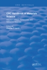 CRC Handbook of Materials Science : Material Composites and Refractory Materials - eBook