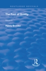 The Fool of Quality : Volume 4 - eBook
