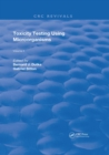 Toxicity Testing Using Microorganisms - eBook