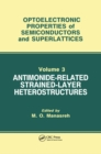 Antimonide-Related Strained-Layer Heterostructures - eBook