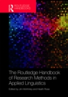 The Routledge Handbook of Research Methods in Applied Linguistics - eBook