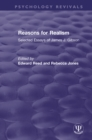 Reasons for Realism : Selected Essays of James J. Gibson - eBook