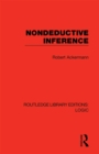 Nondeductive Inference - eBook
