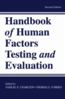 Handbook of Human Factors Testing and Evaluation - eBook