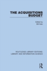 The Acquisitions Budget - eBook