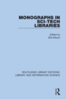 Monographs in Sci-Tech Libraries - eBook