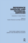 Reference Services and Technical Services : Interactions in Library Practice - eBook