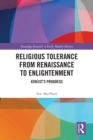 Religious Tolerance from Renaissance to Enlightenment : Atheist's Progress - eBook