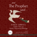 And the Prophet Said - eAudiobook