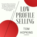 Low Profile Selling - eAudiobook