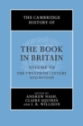 The Cambridge History of the Book in Britain - Book