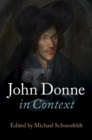 Literature in Context : John Donne in Context - Book