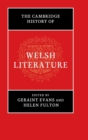 The Cambridge History of Welsh Literature - Book