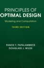 Principles of Optimal Design : Modeling and Computation - Book