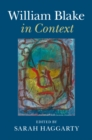 Literature in Context : William Blake in Context - Book