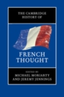 The Cambridge History of French Thought - Book