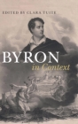 Byron in Context - Book