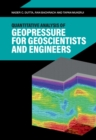 Quantitative Analysis of Geopressure for Geoscientists and Engineers - Book
