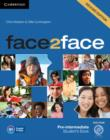 Face2face Pre-intermediate Student's Book with DVD-ROM - Book