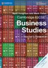 Cambridge International IGCSE : Cambridge IGCSE (R) Business Studies Teacher's Resource CD-ROM - Book