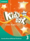 Kid's Box American English Level 3 Class Audio Cds (2) - Book