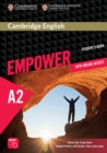 Cambridge English Empower Elementary Student's Book with Online Assessment and Practice, and Online Workbook - Book