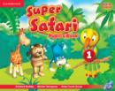 Super Safari Level 1 Pupil's Book with DVD-ROM - Book