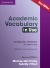 Academic Vocabulary in Use Edition with Answers - Book