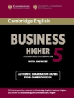 Cambridge English Business 5 Higher Student's Book with Answers - Book