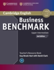Business Benchmark Upper Intermediate BULATS and Business Vantage Teacher's Resource Book - Book