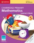 Cambridge Primary Mathematics Stage 5 Learner's Book - Book