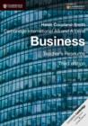Cambridge International AS and A Level Business Teacher's Resource CD-ROM - Book