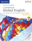 Cambridge Global English Stage 7 Workbook - Book