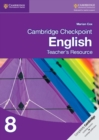 Cambridge Checkpoint English Teacher's Resource 8 - Book