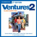 Ventures Level 2 Class Audio CDs (2) - Book