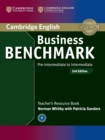 Business Benchmark Pre-intermediate to Intermediate BULATS and Business Preliminary Teacher's Resource Book - Book