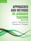 Approaches and Methods in Language Teaching - Book