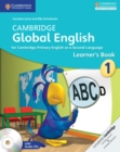 Cambridge Global English Stage 1 Learner's Book with Audio CD : for Cambridge Primary English as a Second Language - Book