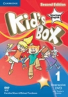 Kid's Box American English Level 1 Interactive DVD (NTSC) with Teacher's Booklet - Book
