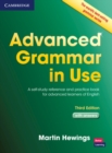 Advanced Grammar in Use with Answers : A Self-Study Reference and Practice Book for Advanced Learners of English - Book