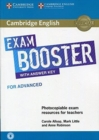 Cambridge English Exam Boosters : Cambridge English Exam Booster for Advanced with Answer Key with Audio: Photocopiable Exam Resources for Teachers - Book