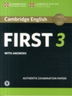 Cambridge English First 3 Student's Book with Answers with Audio - Book