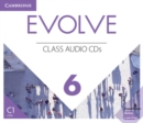 Evolve Level 6 Class Audio CDs - Book