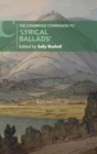 The Cambridge Companion to 'Lyrical Ballads' - Book
