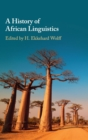 A History of African Linguistics - Book