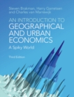 An Introduction to Geographical and Urban Economics : A Spiky World - Book