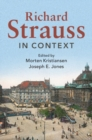 Richard Strauss in Context - Book