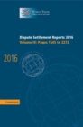 Dispute Settlement Reports 2016: Volume 4, Pages 1545 to 2272 - Book